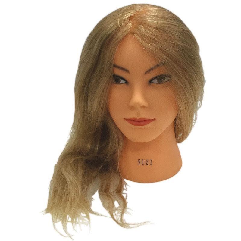 Mannequin SUZI Light Blonde 40-45cm 100% Human Hair
