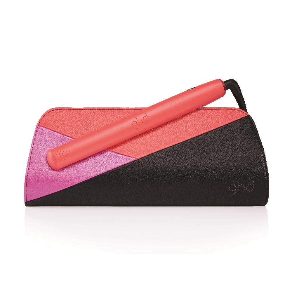 ghd V MK5 hair Straightener / Styler - Pink Blush / Coral Limited Edition