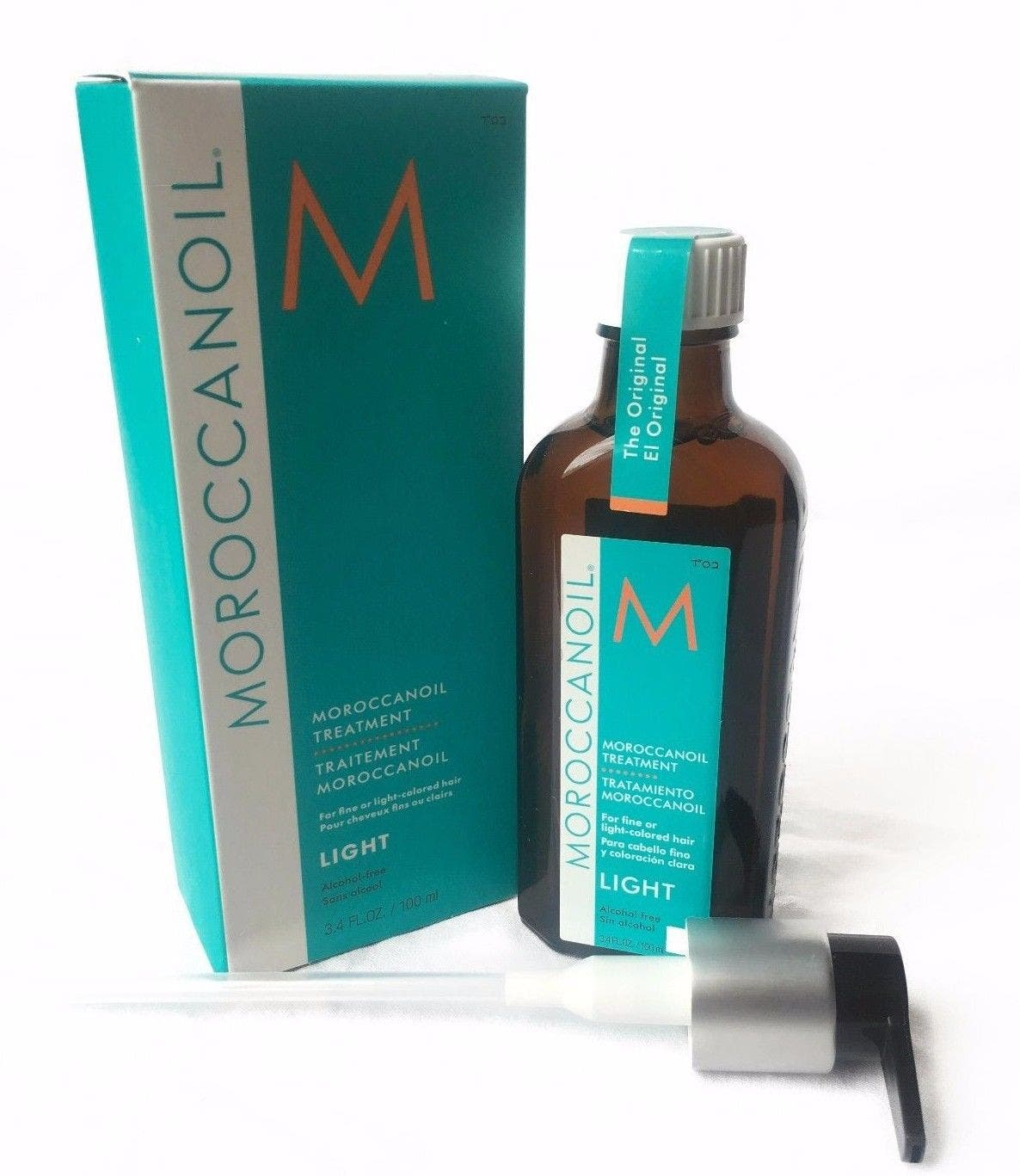 Moroccanoil Light Treatment 100ml for fine or light-colored hair