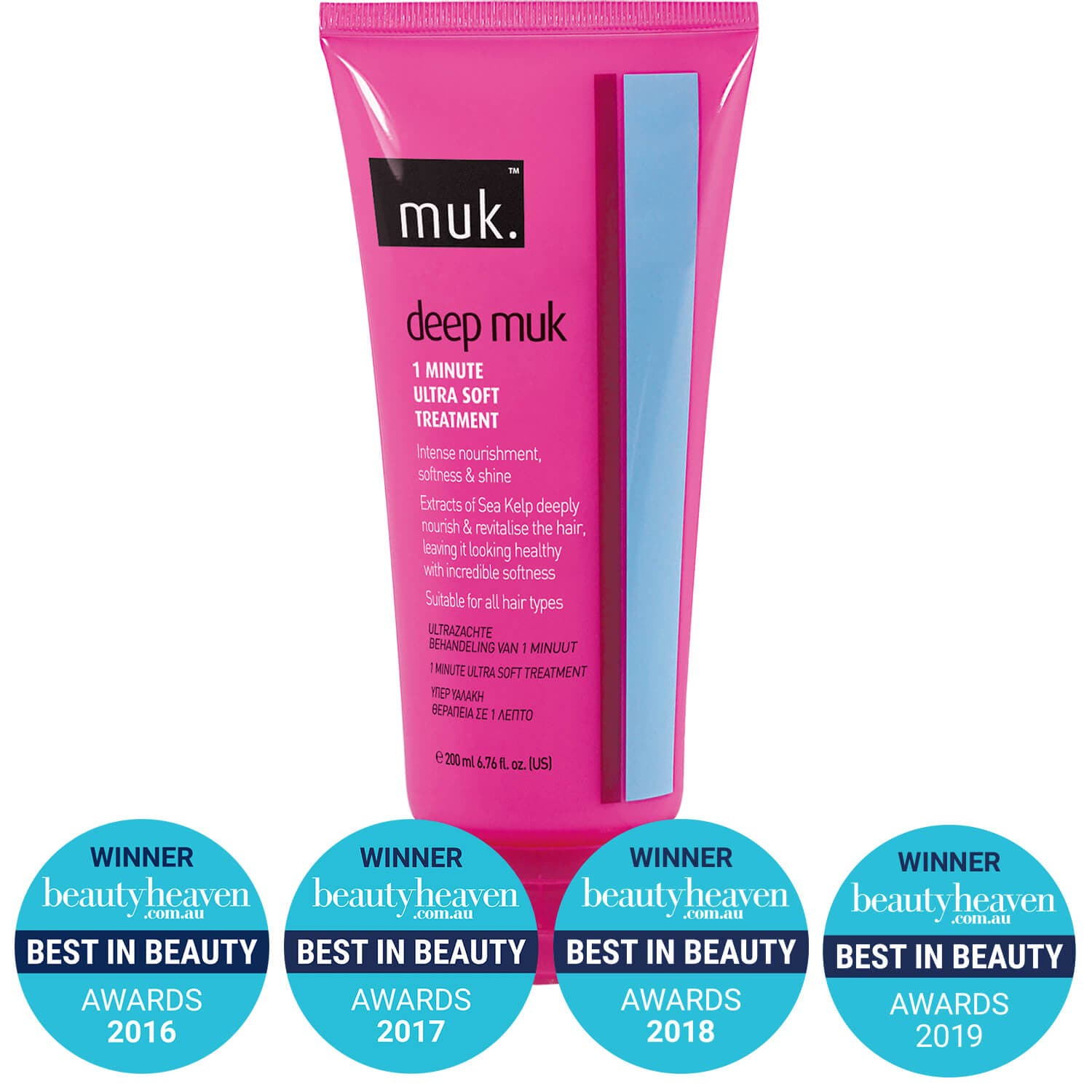 Muk Deep Muk 1 Minute Ultra Soft Treatment 200ml
