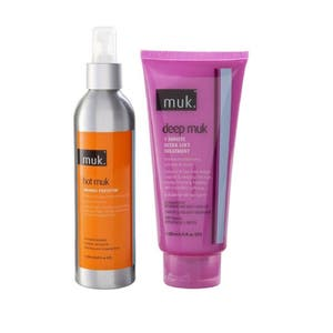 Muk Hot Thermal Protector And Deep Treatment Duo