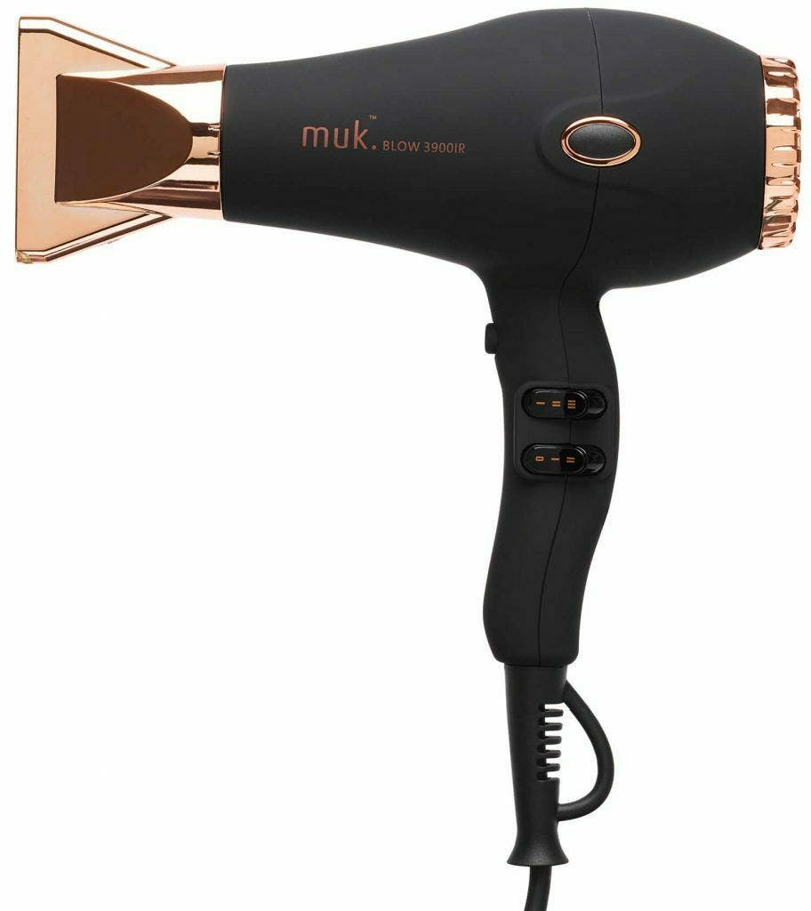 Muk Blow Rose Gold 3900-IR Professional Hair Dryer 2300 watt