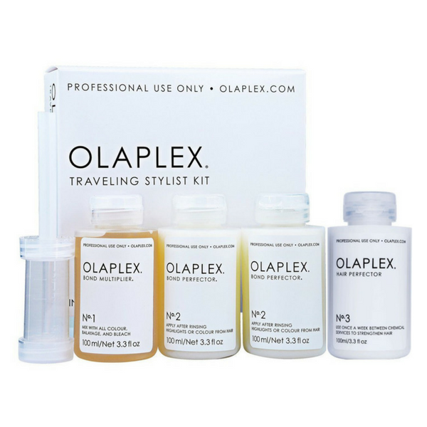 Olaplex Traveling Stylist Kit: 1 x Bond Multiplier No.1 & 2 x Bond Perfector No.2 + Olaplex #3