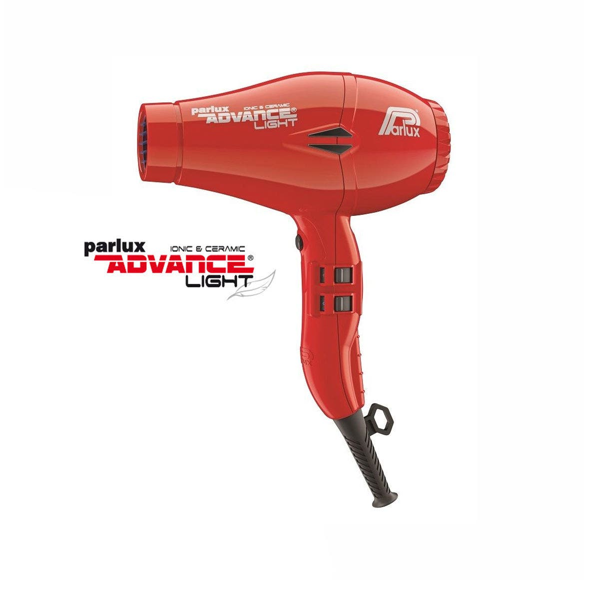 Parlux ADVANCE Light Hair Dryer Ionic & Ceramic - Red