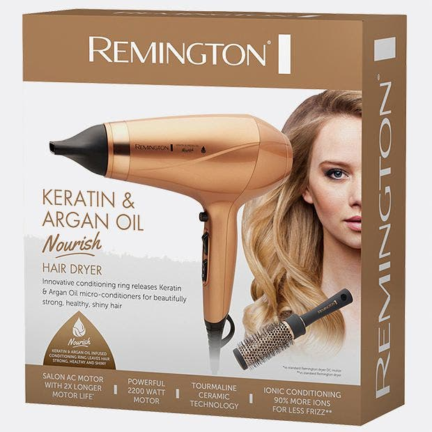 Remington Keratin & Argan Oil Nourish Hair Dryer