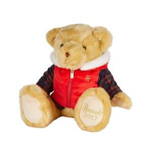 2017 HARRODS BERTIE Teddy Bear. The perfect Birthday Anniversary Christmas Gift