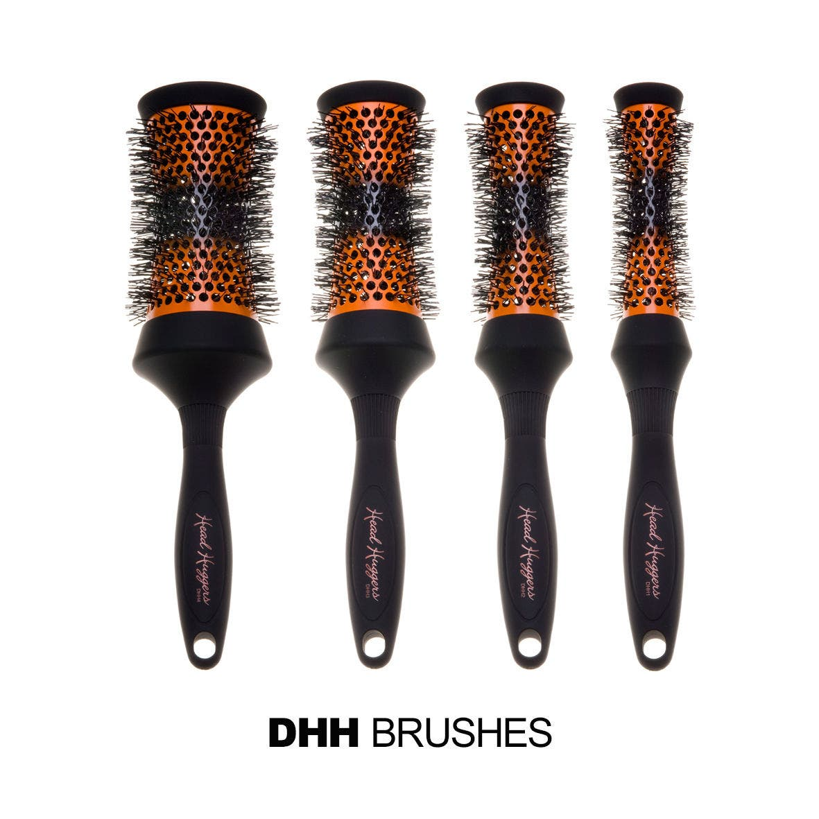 DENMAN HEAD HUGGER CERAMIC RADIAL - Hot Curl Thermo Ceramic Brushes * CHOOSE SIZE