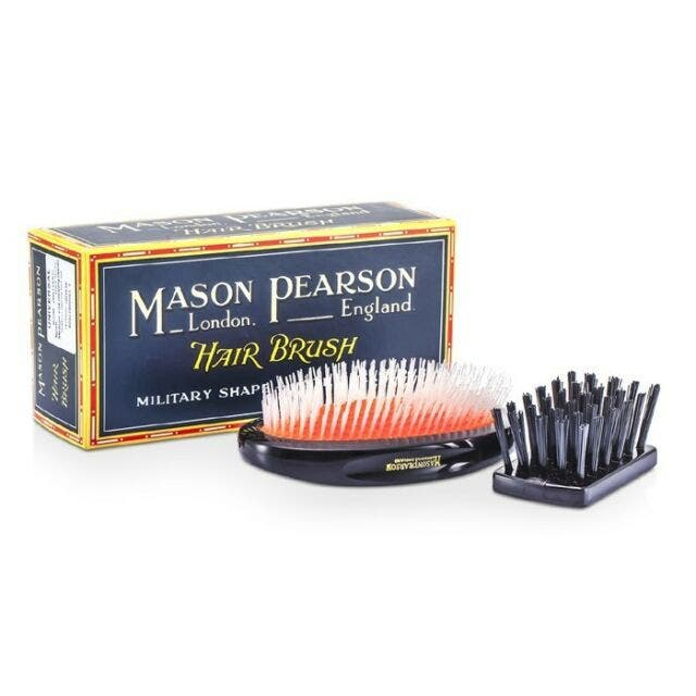 Mason Pearson - Nylon Universal Military Hair Brush Dark Ruby - NU2M