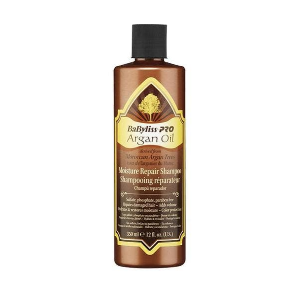 Babyliss Pro Argan Oil Hydrate Repair Nourish Moisture Repair Shampoo 350ml Only