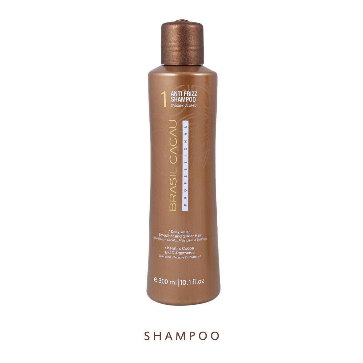 Brasil Cacau ANTI FRIZZ 300ml Shampoo For Damaged Hair