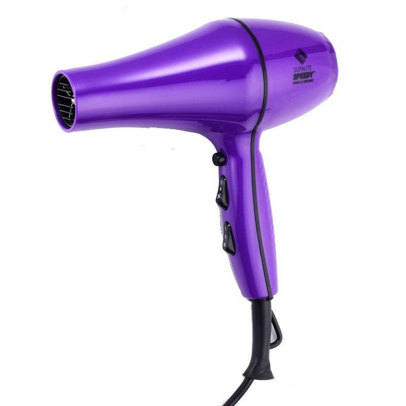 Speedy Supalite Hair Dryer Ceramic Ionic 2200watts - Purple