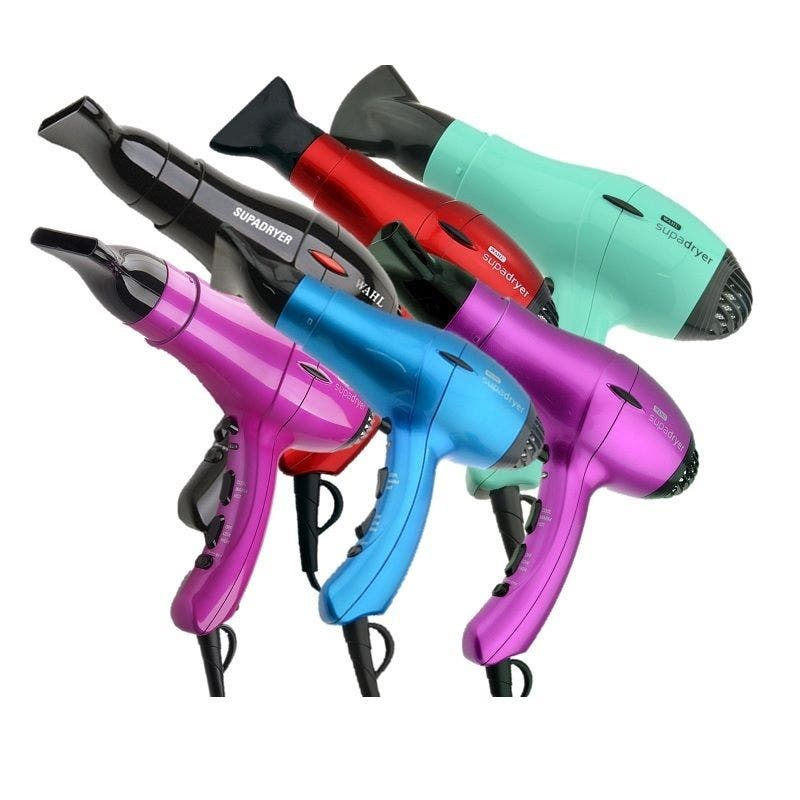 Wahl Supadryer Ionic Hairdryer with Diffuser & Nozzle 1800W *