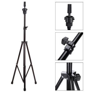 140cm Adjustable Tripod Stand For Hairdressing Mannequin Head Training