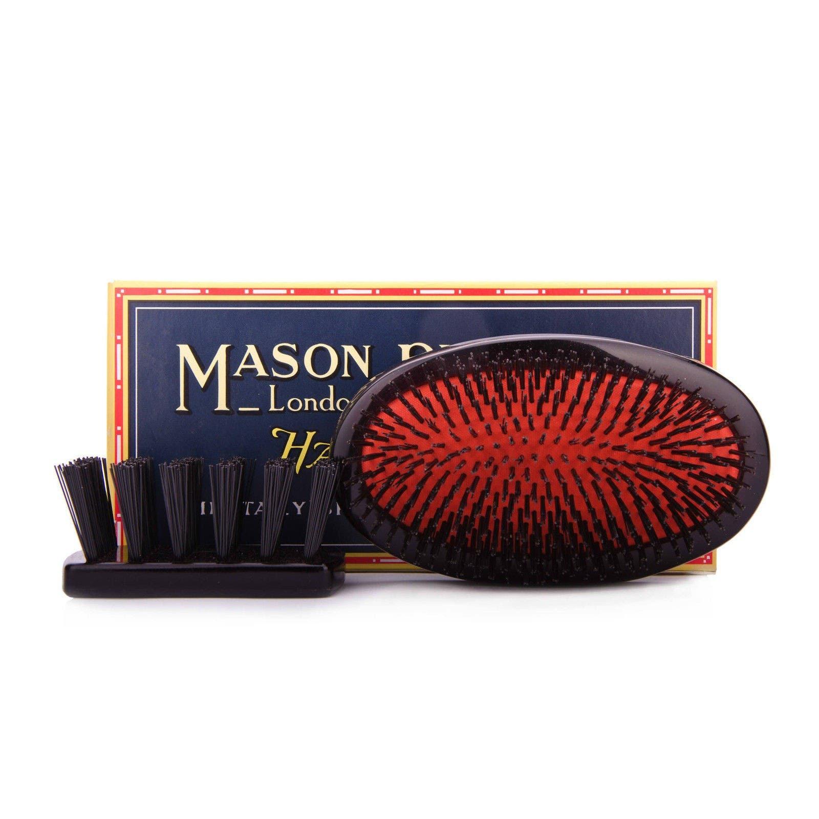 Mason Pearson Military Small Extra Bristle B2M Black
