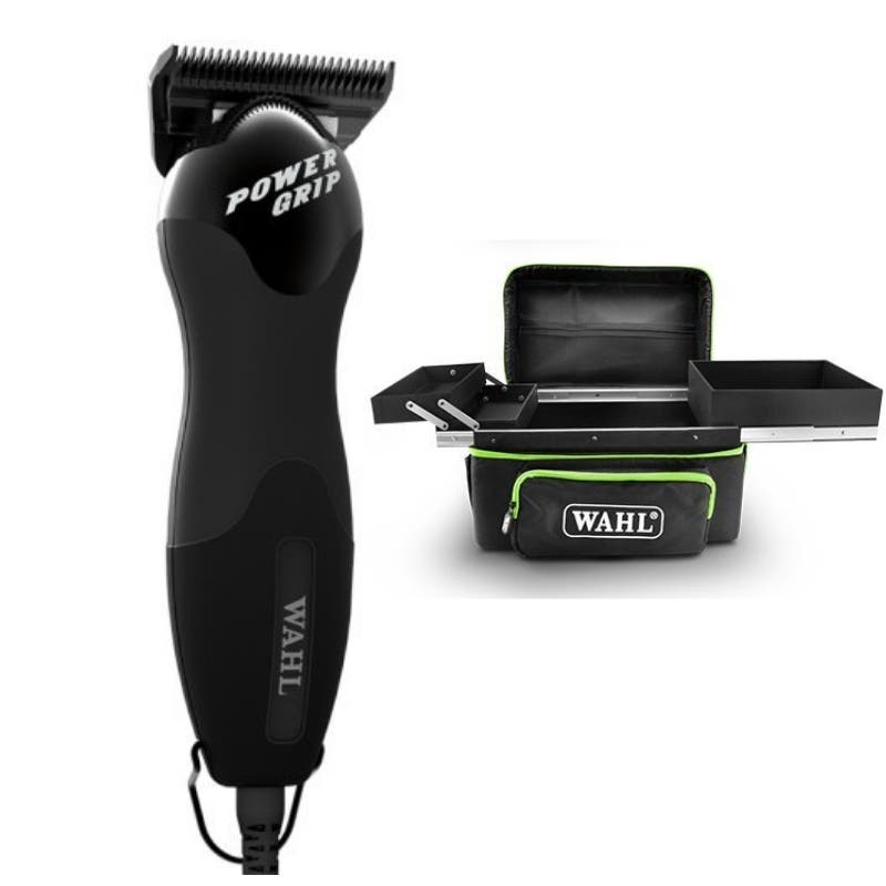 Wahl POWER GRIP Pet/Animal/Horse Clipper Professional Cored #10W Ultimate with Cooler Case