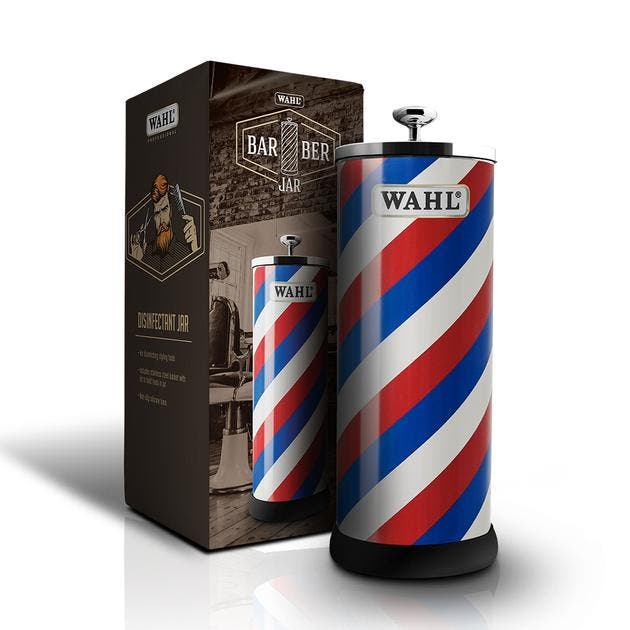 Wahl Professional Barber Disinfectant Jar for Styling Tools