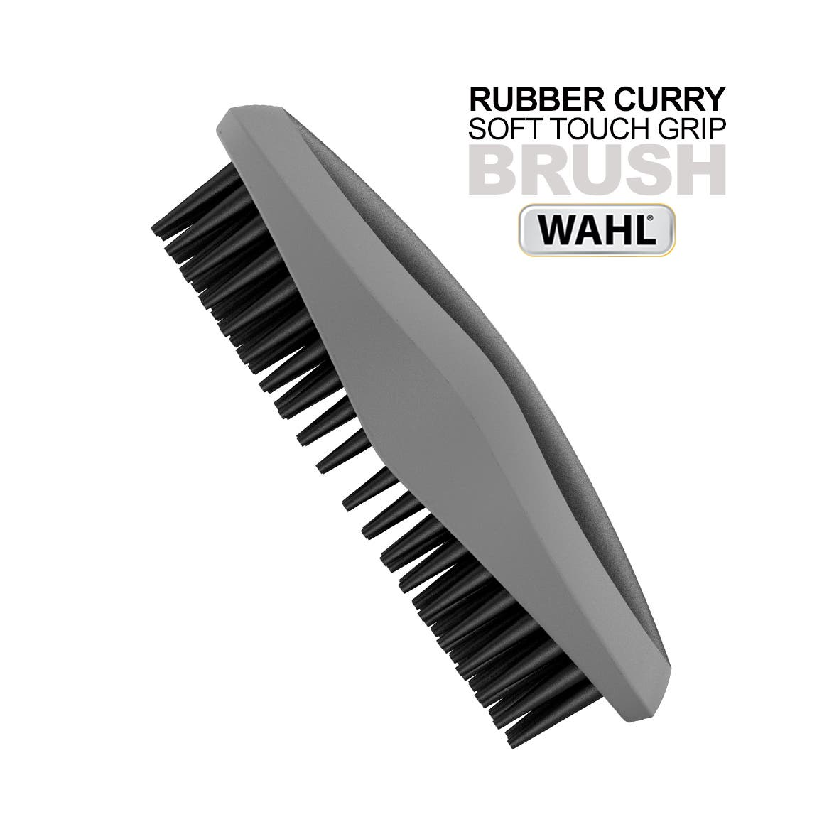 Wahl Rubber Curry Pet/Animal Brushes - Soft Touch Grip